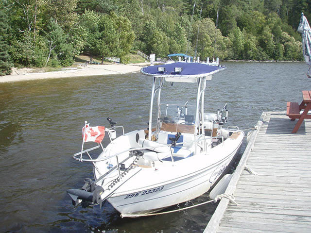 T-Top for 1990 Grew - 19ft center console boats 34595-3