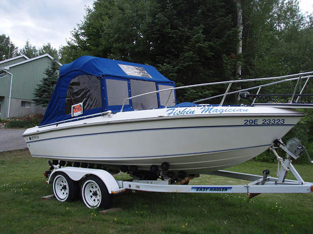 T-Top for 1990 Grew - 19ft center console boats 34595-5