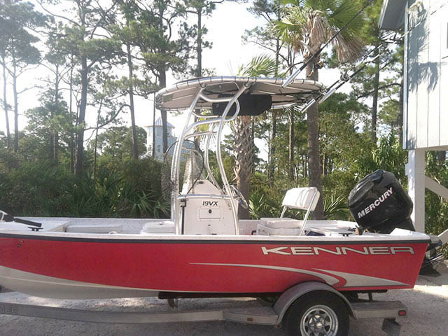 T-Top for Kenner center console boats 34611-2