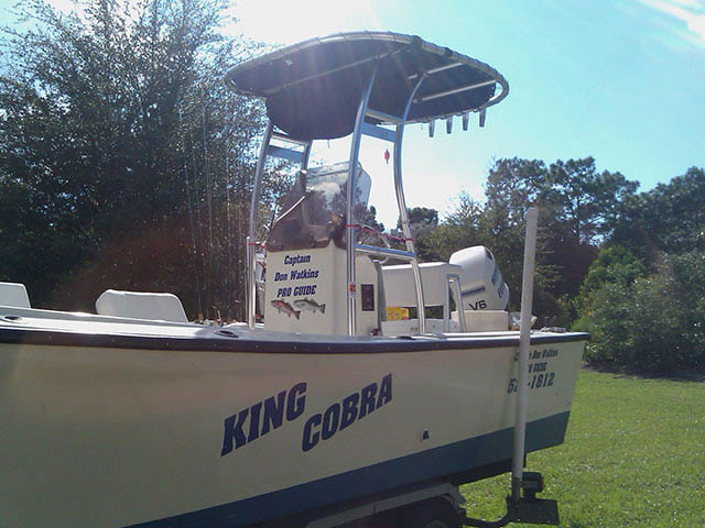 1984 Proline 24' Open Fisherman boat t-tops