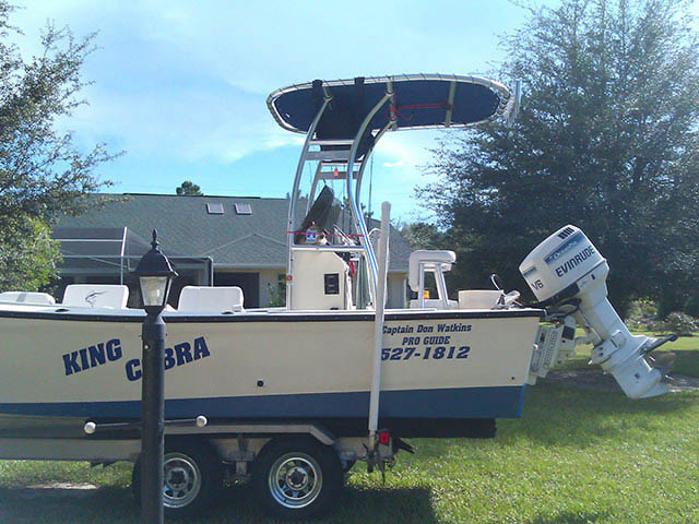 T-Top for 1984 Proline 24' Open Fisherman center console boats 34640-2