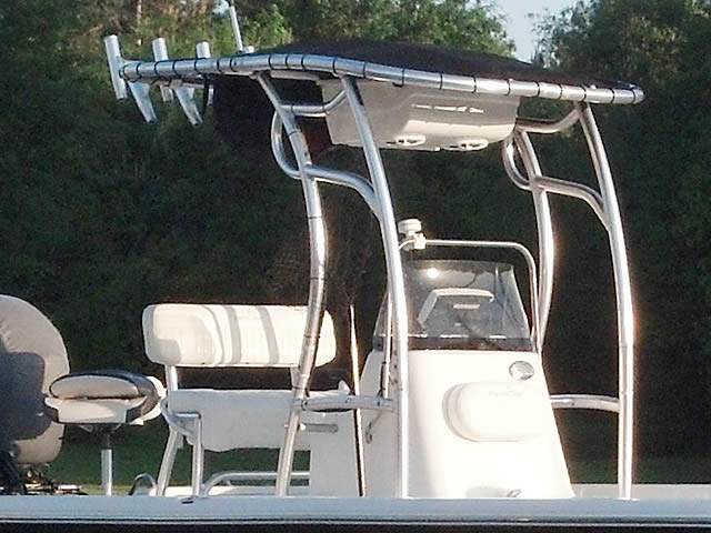 T-Top for 2011   2111 Nautic Star center console boats 34644-6
