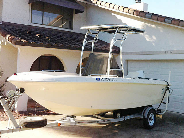 1997 Proline boat t-tops