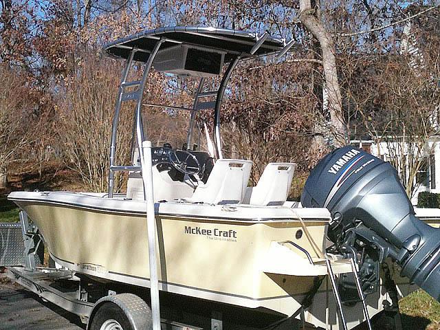 McKee Craft 184 boat t-tops