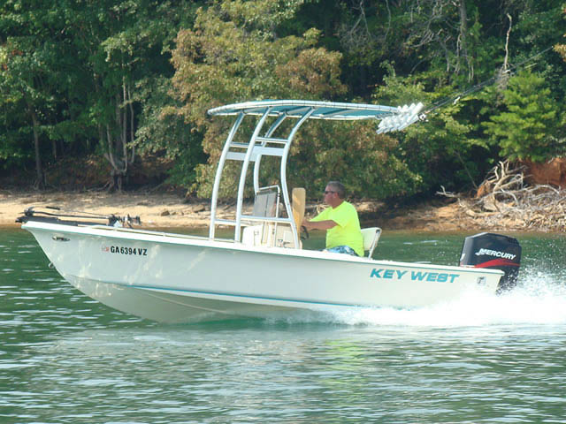 1998 Key West boat t-tops