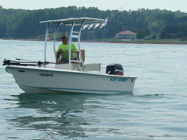 T-Top for 1998 Key West center console boats 37332-4