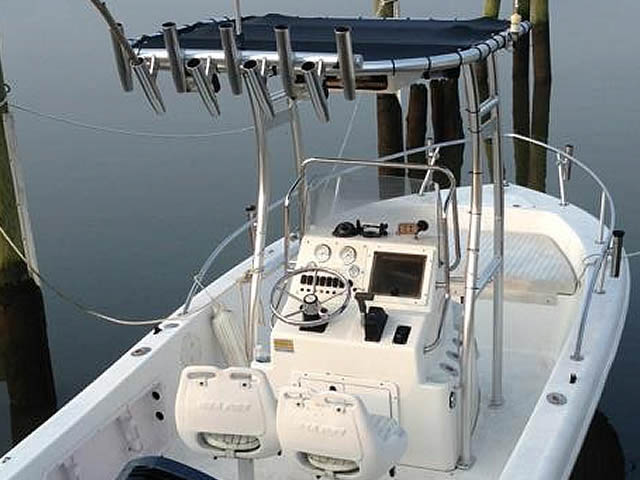 T-Top for 2003 Sea Pro 190CC center console boats 37337-2