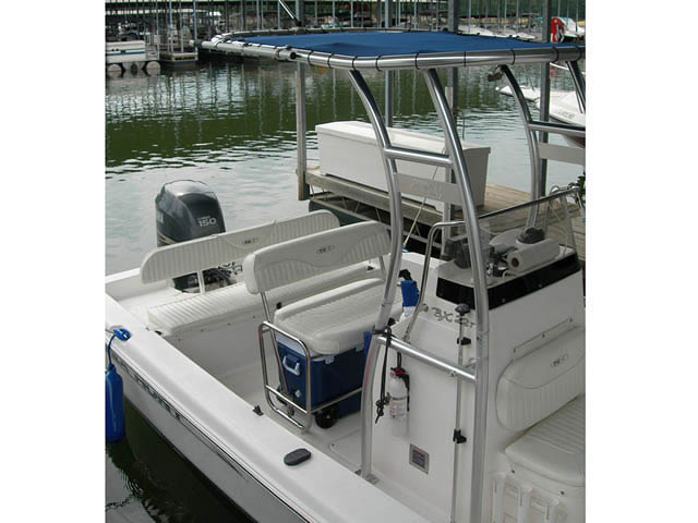 2007 BX-22T Sea Hunt boat t-tops