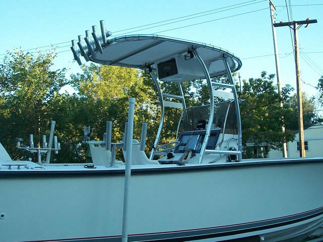 T-Top for 1989 Seacraft 23'3 center console boats 37570-3
