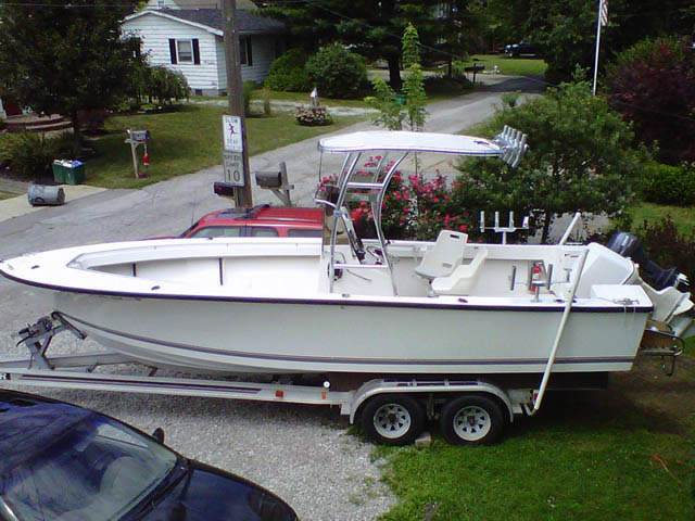 T-Top for 1989 Seacraft 23'3 center console boats 37570-5