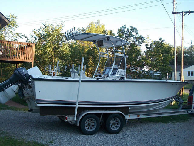 T-Top for 1989 Seacraft 23'3 center console boats 37570-6