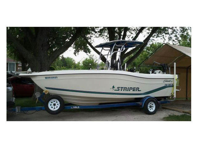 T-Top for 1996 Striper Seaswirl 21Ft CC center console boats 37593-2