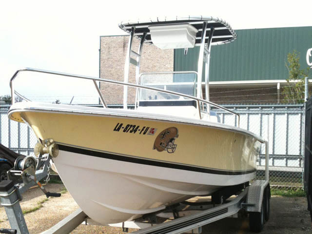 SeaStrike 205 boat t-tops