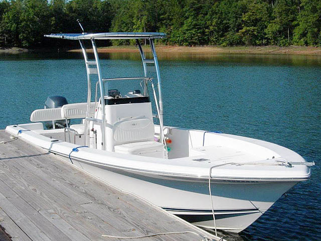 Sea Hunt BX22-T boat t-tops