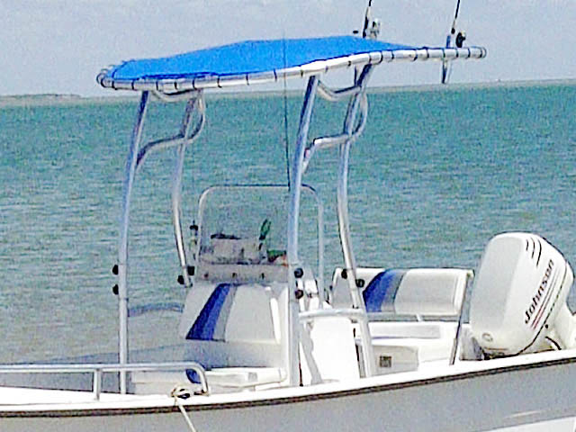 T-Top for 2003 Carolina Skiff 2180 DLX center console boats 39703-3