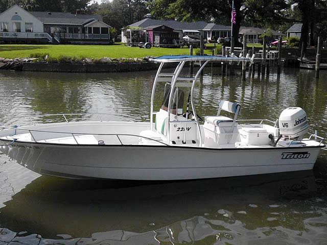 T-Top for 1997 Triton 22DV center console boats 41260-2