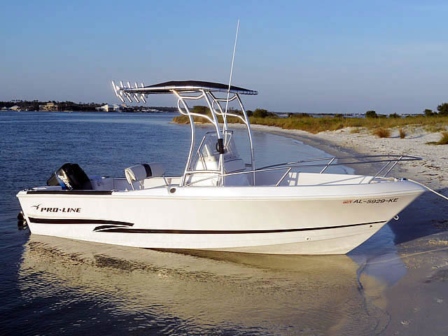 2000 20' CC Proline boat t-tops