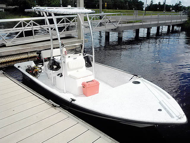 T-Top for 2008 Mako 181 center console boats 43473-3