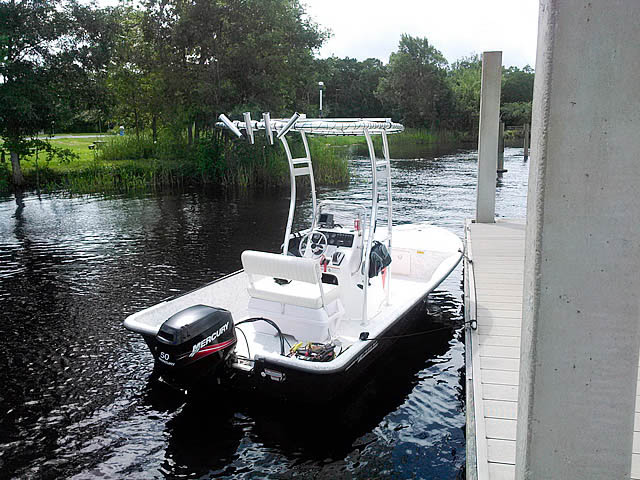 T-Top for 2008 Mako 181 center console boats 43473-5