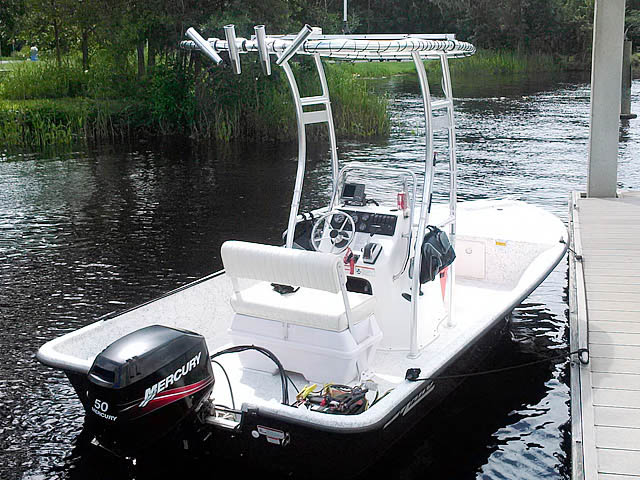 T-Top for 2008 Mako 181 center console boats 43473-6