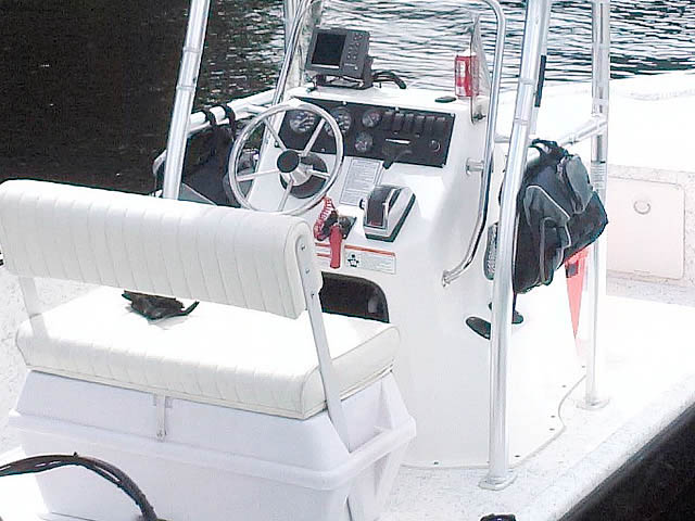 T-Top for 2008 Mako 181 center console boats 43473-7