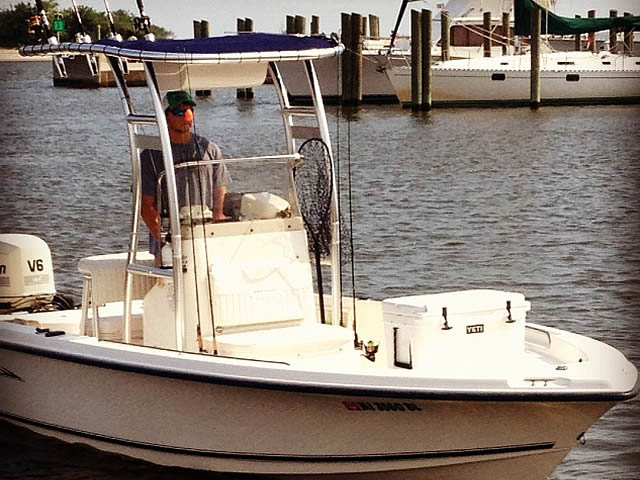 2005 Sea Hunt Navigator 22' boat t-tops