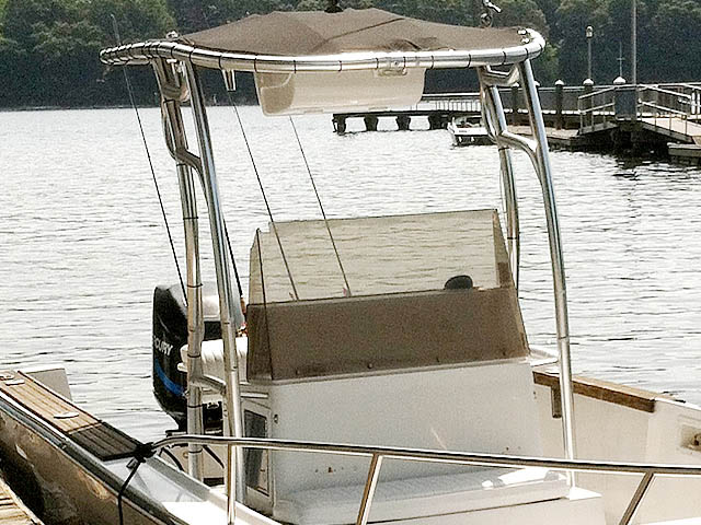 T-Top for Robalo R-2320 center console boats 51055-2