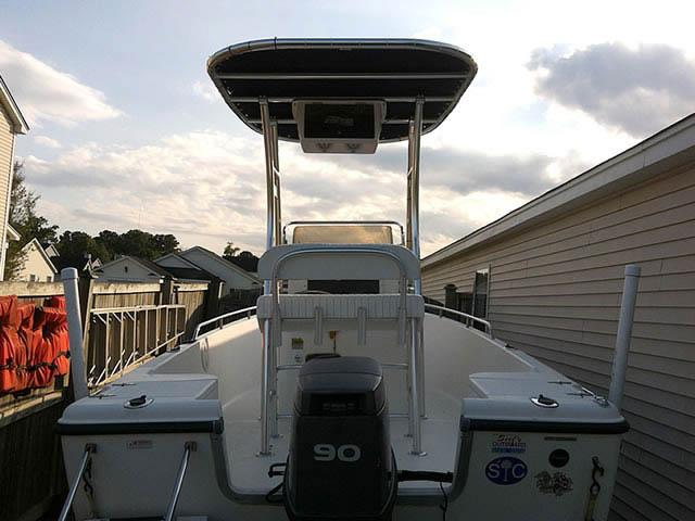 2002 Sea Hunt 172CC boat t-tops
