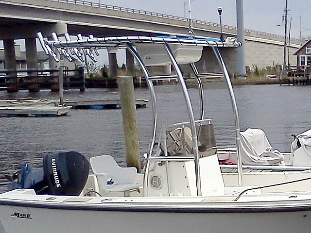 T-Top for 1983 17' Mako center console boats 55436-2