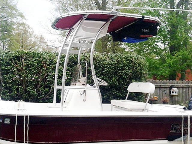 T-Top for Carolina Skiff JVX18 center console boats 62234-2