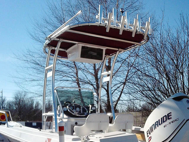 T-Top for 1988 Wellcraft Fisherman 20 center console boats 72015-5