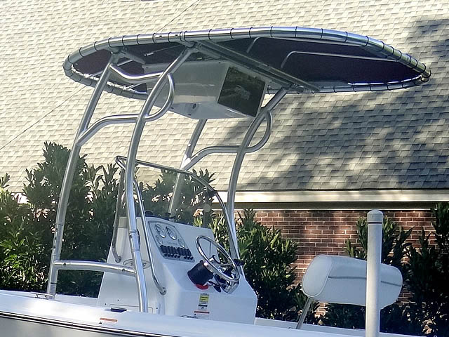 T-Top for 2008 Sea Pro 186CC center console boats 72502-2