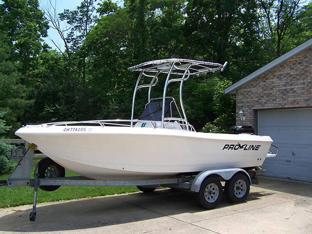 Pro Line boat t-tops
