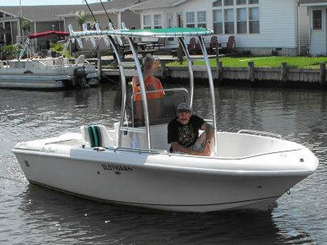 T-Top for 1993 Proline 17ft center console boats 76020-3