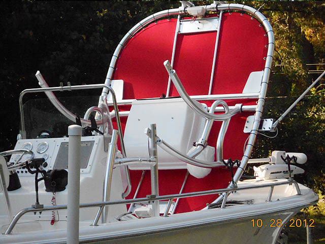 T-Top for 2004 SEAPRO 2100 center console boats 76054-3