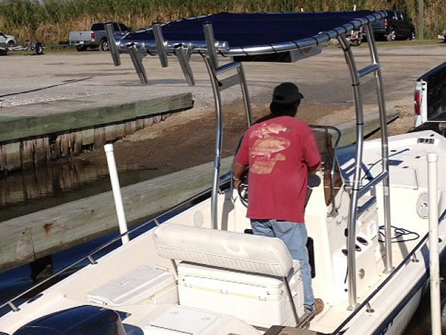T-Top for 2007 Key West Bay Reef center console boats 76138-3