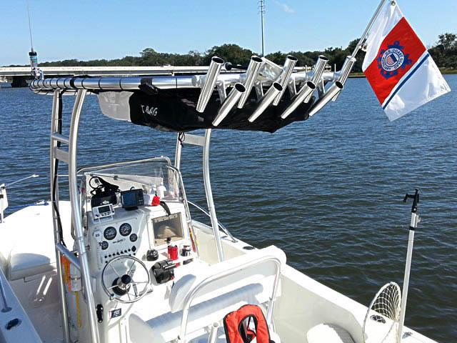 T-Top for 2005 Sea Boss 1800CC center console boats 76536-4