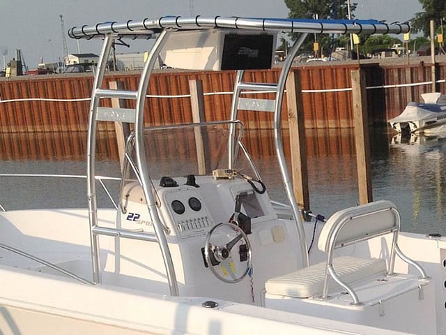 T-Top for 2001 Proline Sportsman 22 center console boats 78125-2