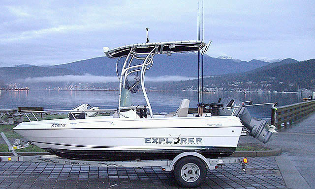 2007 Campion Explorer 492 boat t-tops
