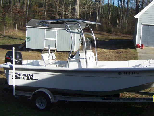 T-Top for 2009 Carolina Skiff DLV center console boats 8426-2