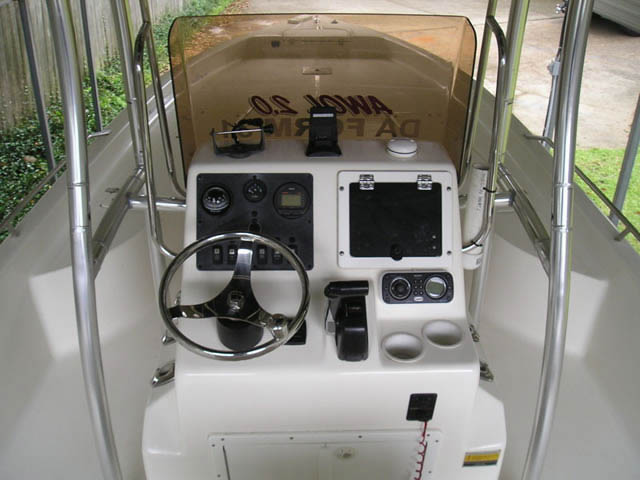 T-Top for 2008 Clearwater 2400 Baystar center console boats 8429-5
