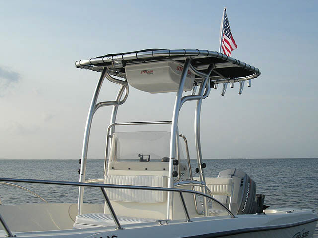 Sea Boss 190CC boat t-tops