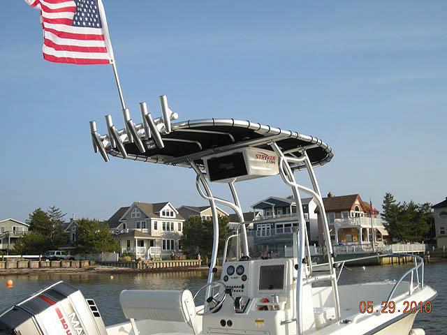 T-Top for Sea Boss 190CC center console boats 8438-4