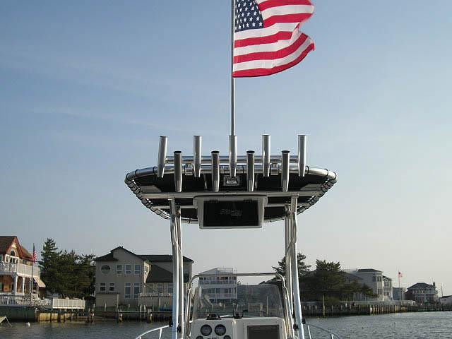 T-Top for Sea Boss 190CC center console boats 8438-5