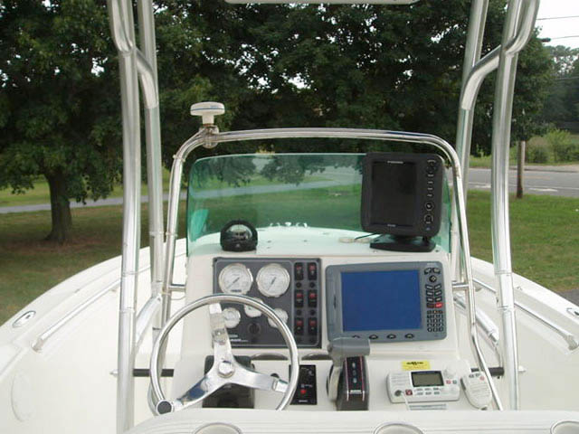 T-Top for Pioneer center console boats 8814-4