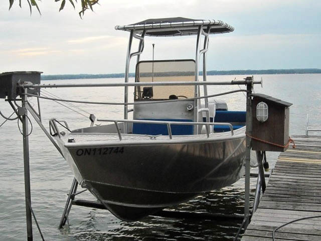 T-Top for 2008 Stanley Islander 21' center console boats 9261-2