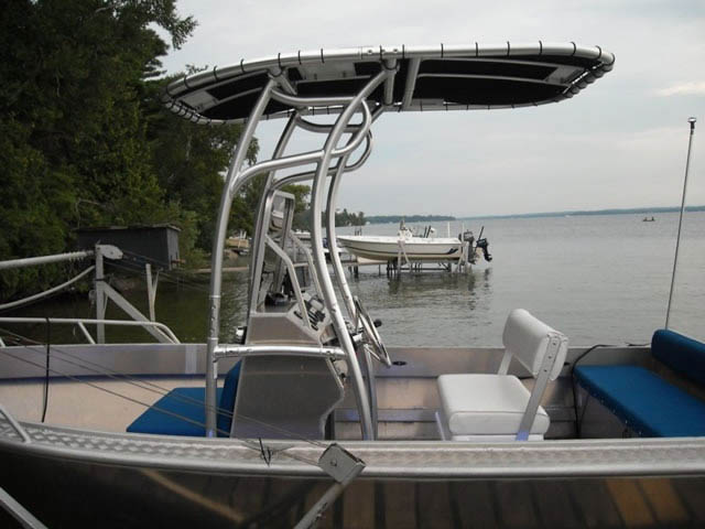 T-Top for 2008 Stanley Islander 21' center console boats 9261-4