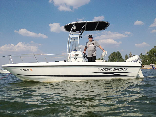 T-Top for Hydra-Sports  Boats