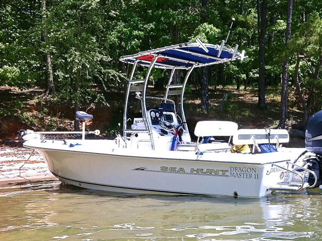 T-Top for 2007 Sea Hunt BX22T center console boats 94805-2