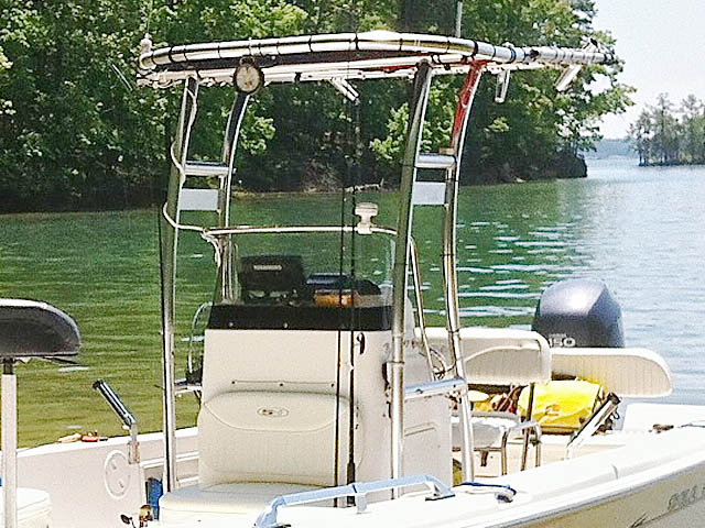 T-Top for 2007 Sea Hunt BX22T center console boats 94805-4